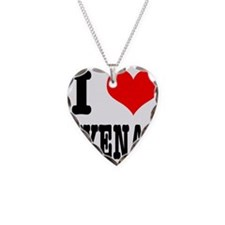 I Heart (Love) Hyenas Necklace