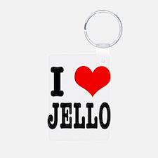 I Heart (Love) Jello Keychains