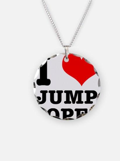 I Heart (Love) Jump Ropes Necklace