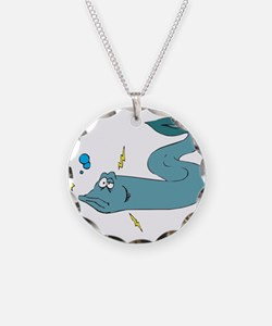 Silly Electric Eel Necklace