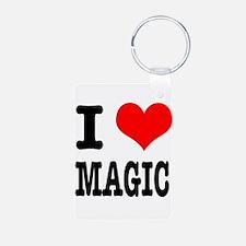 I Heart (Love) Magic Keychains