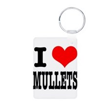 I Heart (Love) Mullets Keychains