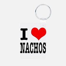 I Heart (Love) Nachos Keychains