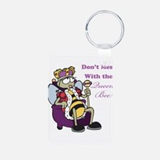 Don't Mess With Queen Bee Keychains