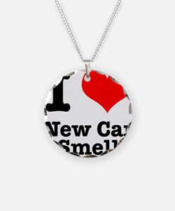 I Heart (Love) New Car Smell Necklace