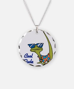 Cool Dude Lizard Necklace