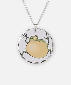 Pot-Belly Frog Necklace