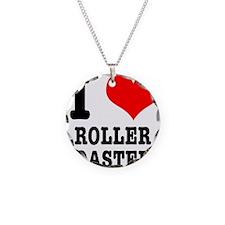 I Heart (Love) Roller Coaster Necklace