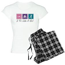 Tri Like A Girl Triathlete Pajamas