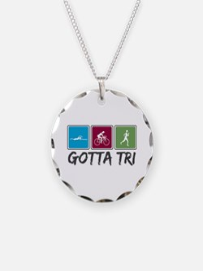 Gotta Tri (Triathlon) Necklace