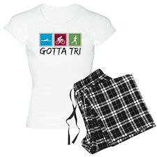 Gotta Tri (Triathlon) pajamas