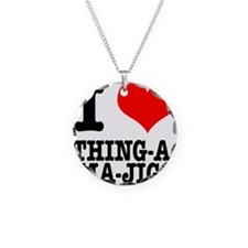 I Heart (Love) Thing-A-Ma-Jig Necklace