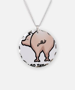 Talk to the Tail Pig Necklace