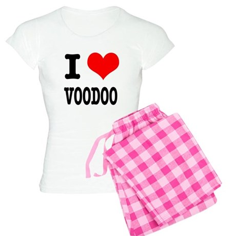 I Heart (Love) Voodoo Women's Light Pajamas