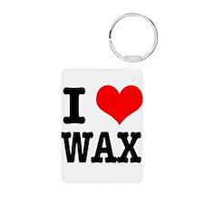 I Heart (Love) Wax Keychains