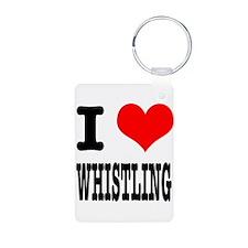 I Heart (Love) Whistling Keychains