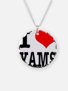 I Heart (Love) Yams Necklace