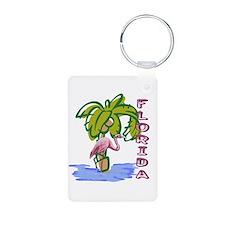 Florida flamingo Keychains