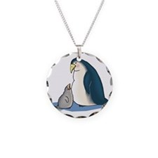 Mommy/Daddy & Baby Penguin Necklace