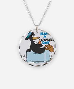Have a Cool Day Penguin Necklace