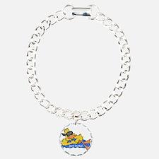 Ducky on a Raft Bracelet
