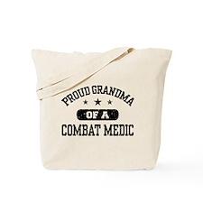 Proud Combat Medic Grandma Tote Bag
