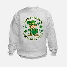 Lucky & Charming Sweatshirt