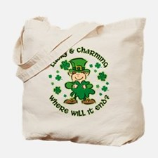 Lucky & Charming Kids Tote Bag