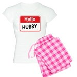 Hello My Name is Hubby Women's Light Pajamas