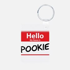 Hello My Name is Pookie Keychains