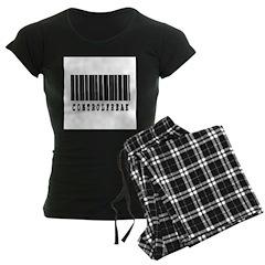 Control Freak Barcode Design Pajamas