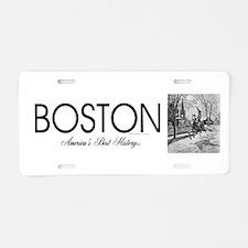 ABH Boston Aluminum License Plate