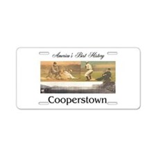 ABH Cooperstown Aluminum License Plate