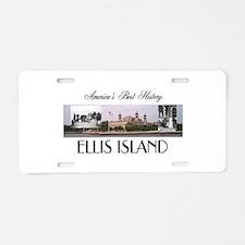 ABH Ellis Island Aluminum License Plate