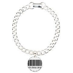 Jerk Magnet Barcode Design Bracelet