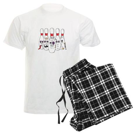 Beat Up Bowling Pins Men's Light Pajamas