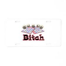 Bingo Bitch Aluminum License Plate