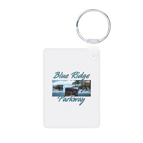 Blue Ridge Americasbesthis Aluminum Photo Keychain