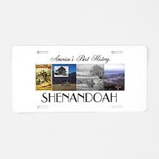ABH Shenadoah Aluminum License Plate