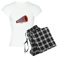 Red Cheer Megaphone Pajamas