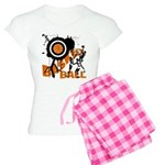 Grunge Basketball Women's Light Pajamas