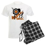 Grunge Basketball Men's Light Pajamas