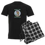Camel Toe University Men's Dark Pajamas