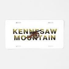 ABH Kennesaw Mountain Aluminum License Plate