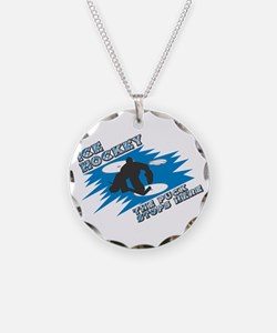 The Puck Stops Here Necklace