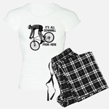 Downhill Mountain Biker Pajamas