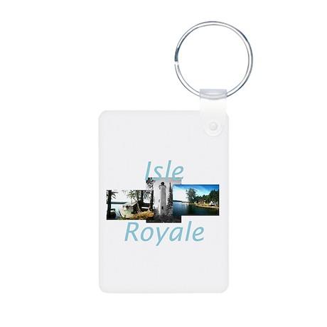 ABH Isle Royale Aluminum Photo Keychain