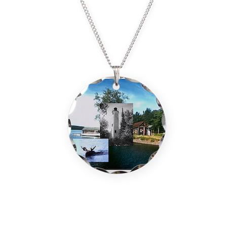 ABH Isle Royale Necklace Circle Charm