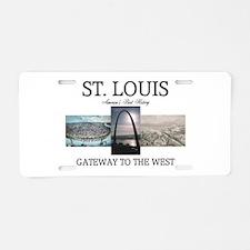 ABH Gateway Arch Aluminum License Plate