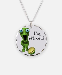 Funny Naked Turtle Necklace